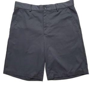 Greg Norman Tasso Elba Golf Gray Shorts Men's 32